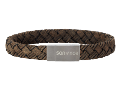 SON Bracelet Dark Brown Calf Leather 21cm