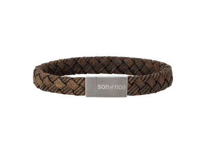SON Bracelet Dark Brown Calf Leather 23cm