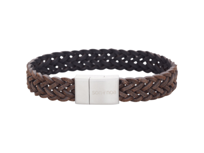 SON Bracelet Dark Brown Calf Leather 21cm