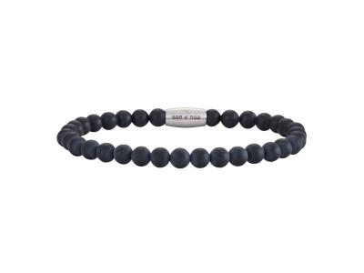 SON Bracelet Matt Black Onyx – 19cm