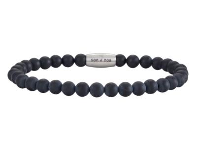 SON Bracelet Matt Black Onyx – 23cm