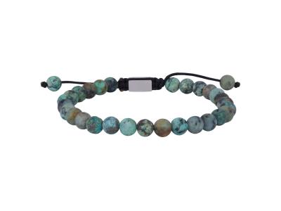 SON Bracelet African Turquoise Matt 23cm
