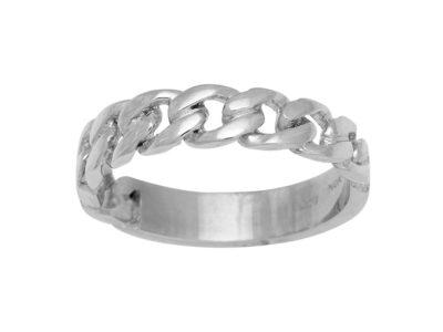 Rhd. Sølv Ring PANZER52 4,6mm