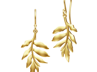 Tree Of Life Earrings – Gold
