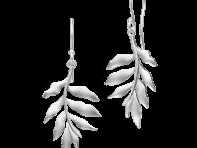 Tree Of Life Earrings – Rhodium