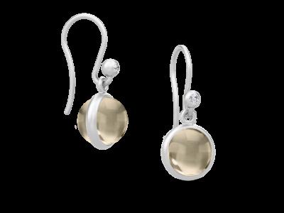 Primini Earrings – Rhodium