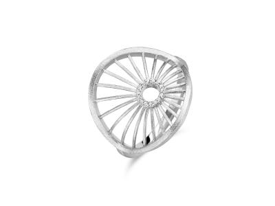 Aura Ring – Sterlingsølv