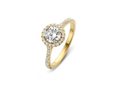 Romance Ring – Sterlingsølv Forgyldt