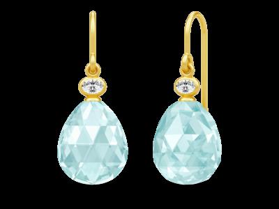 Faith Earrings – Gold